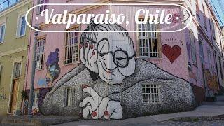 VALPARAISO, CHILE: The city of Graffiti everywhere!