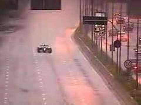 Red Bull Racing on public roads in Sao Paulo