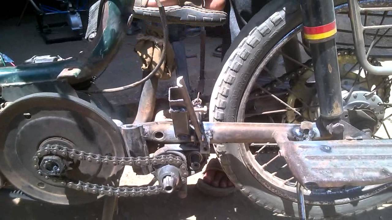 Two Wheeler Reverse Gear In TVS 50 Mechanical Engineering