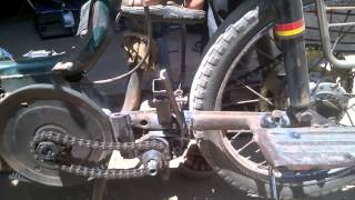 Two wheeler reverse gear in TVS 50 mechanical engineering project topics