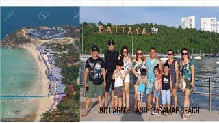 Koh Larn Island tour, @ Samae Beach