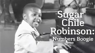 Sugar Chile Robinson - Numbers Boogie (1951)