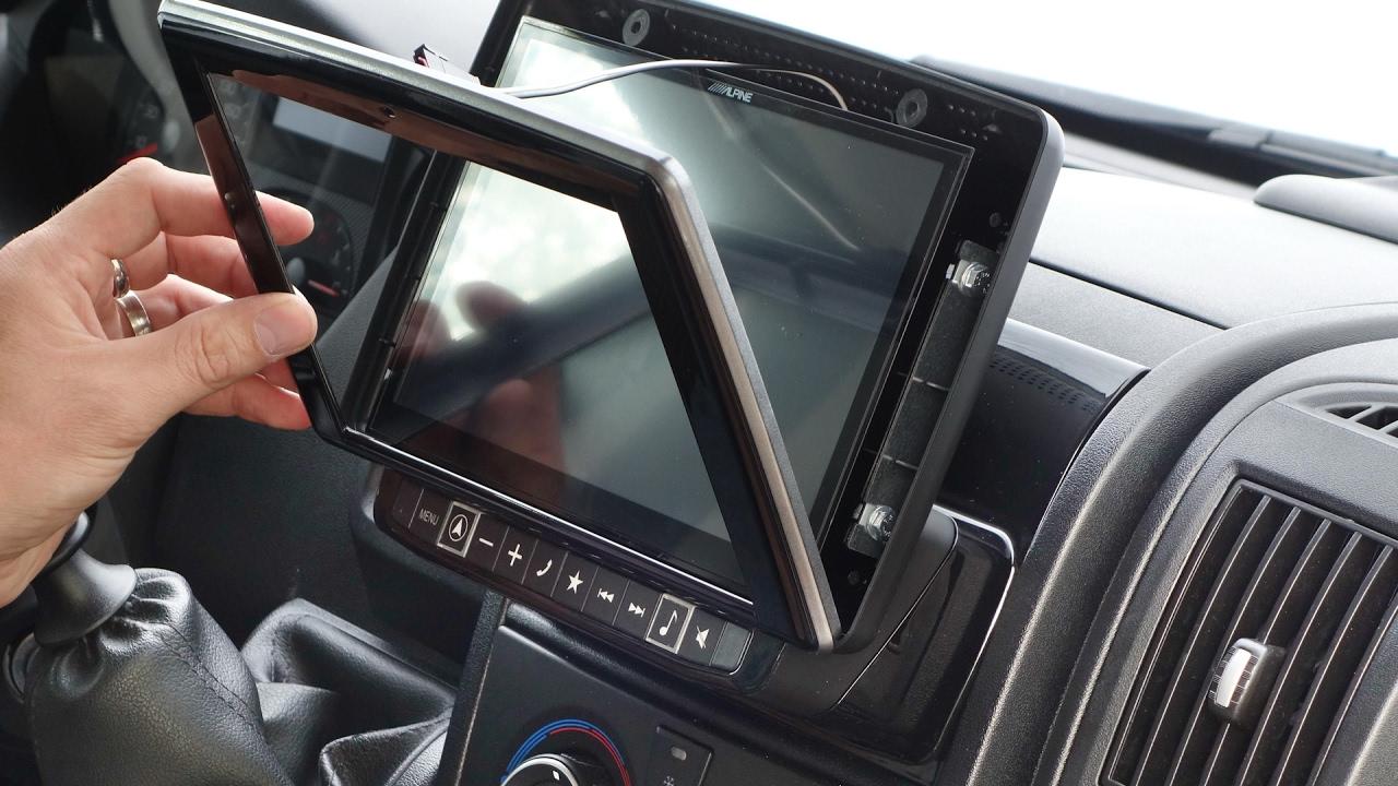 alpine navigation x901d du for fiat ducato type 250 290 installation manual youtube [ 1280 x 720 Pixel ]