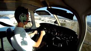 First Solo- Nick Meyer(A video of my first solo flight on June 14, 2011, my birthday, at Van Nuys Airport in Ca. I did my flight in a PA-28-161 Warrior II (N80908). I had 29 hours of flying ..., 2011-07-01T02:52:12.000Z)