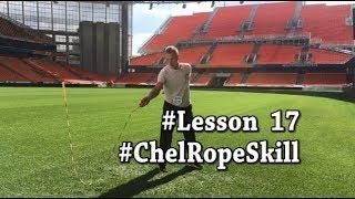Броски со скакалкой  вращение одной рукой Видео Урок Трюки ChelRopeSkill Lesson 17