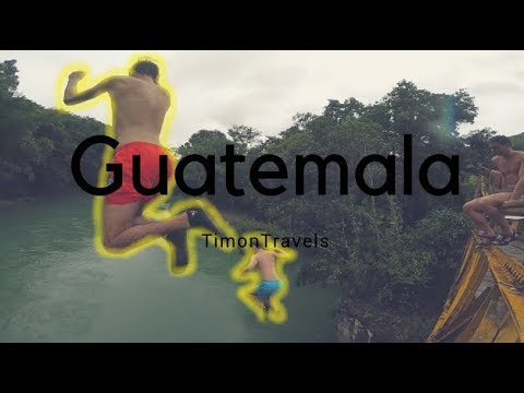 Jumping off a bridge in Guatemala | Central America Travel