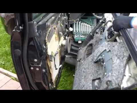 Снятие обшивки передних дверей ПРАДО 120 (Lexus GX-470)