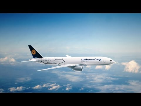 BMW Vision iNEXT World Flight & Lufthansa Cargo
