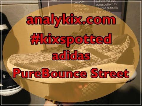 newest 9f32b f6a7f analykix  kixspotted adidas PureBounce Street