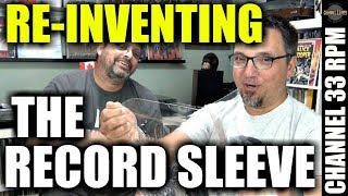 Re-inventing vinyl record sleeves | Meet Mike from Vinyl Storage Solutions