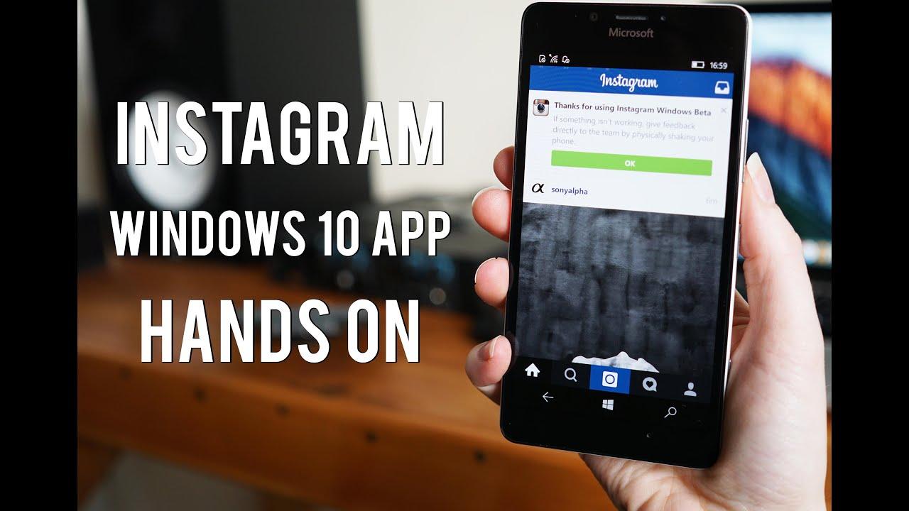 Hands-on: Instagram Beta for Windows 10 Mobile
