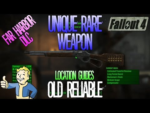 Fallout 4 | Old Reliable | Unique Rare Weapon | Location Guide
