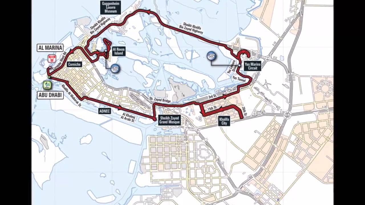 Maps of THE ABU DHABI Ride WorldTour @rcssport @Abudhabi @Emirates ...