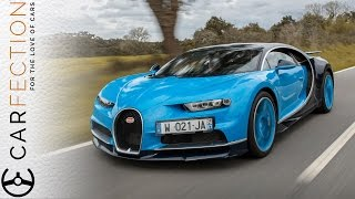 Bugatti Chiron: World's First Video Review - Carfection
