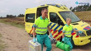 Kom bij de ambulance! Een kijk je bij Witte Kruis Noord- en Oost-Gelderland