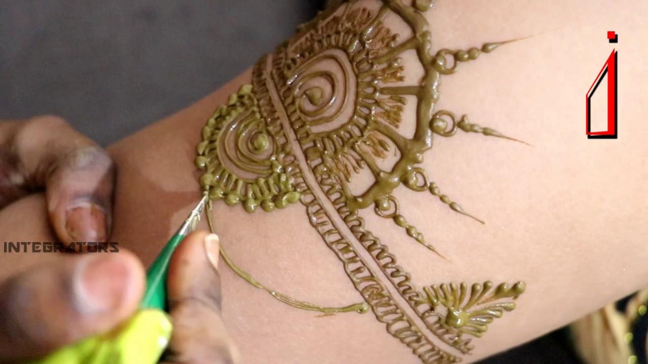 Mehndi On Arms Bajuband Mehndi Jewellery Inspired Mehndi Designs
