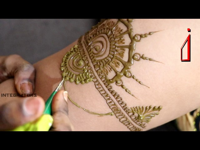 Mehndi On Arms | Bajuband Mehndi | Jewellery Inspired Mehndi Designs | Temporary tattoo