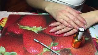Ламинирование ногтей Fox Cover Часть 2 Тест Результат через 12 дней