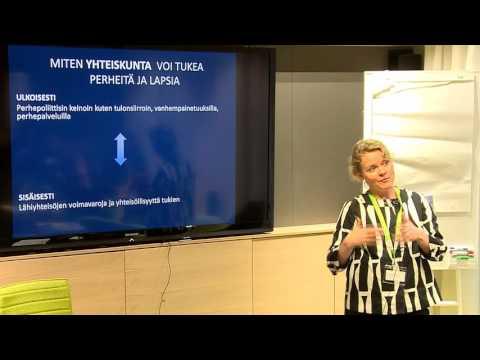 Vauvanäkökulma. Dosentti Marjukka Pajulo, Turun yliopisto