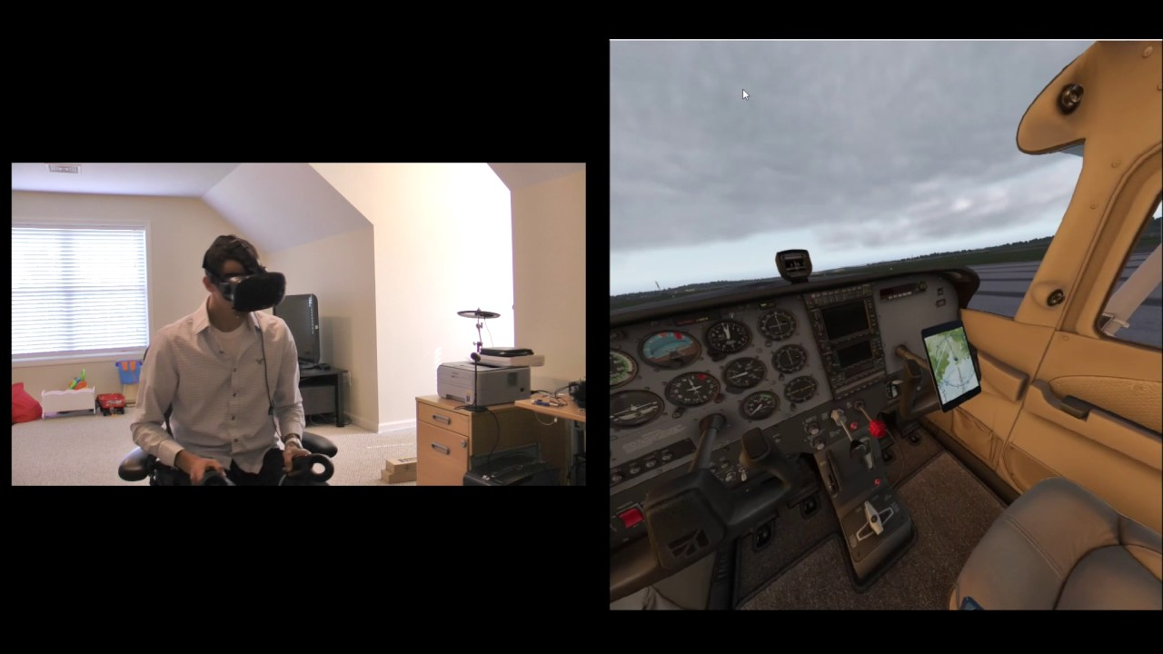 Flight Simulator 'X-Plane 11' Now Natively Supports SteamVR