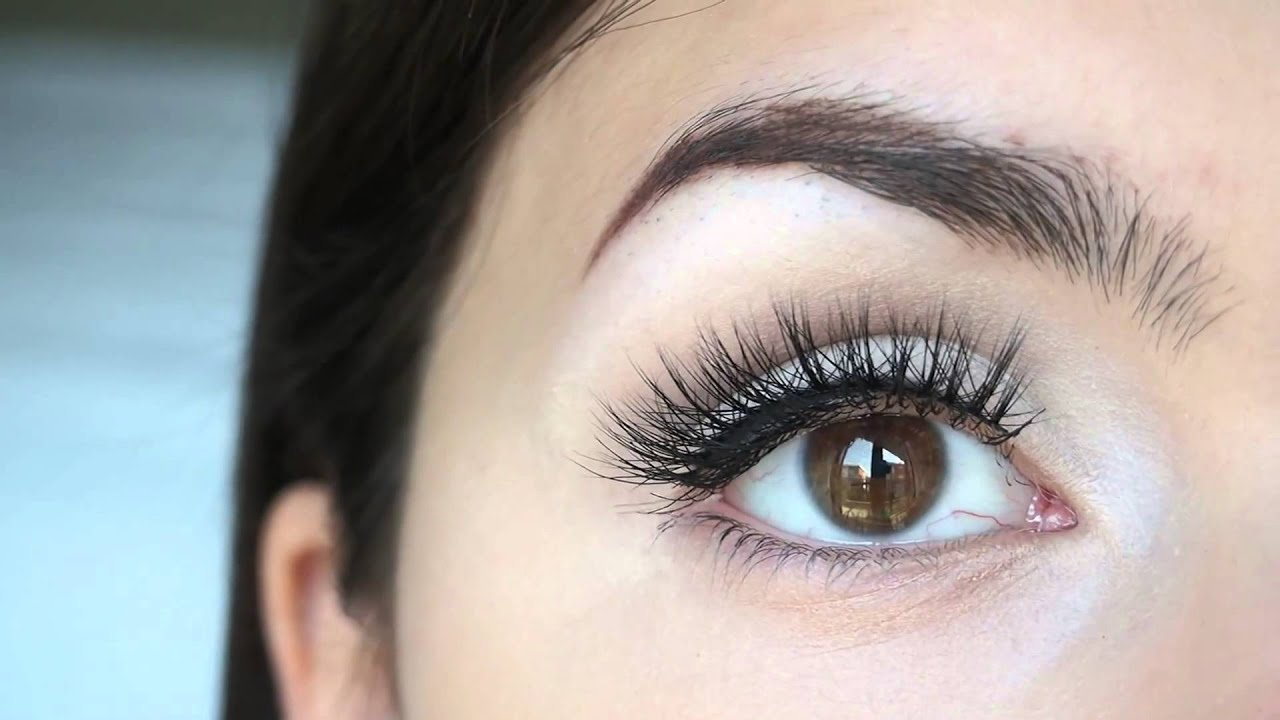 How To Apply Take Care Of Your Mink False Lashes Youtube