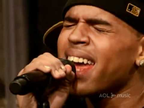 Young Love' (AOL Sessions) Video   Chris Brown   AOL Music.wmv