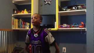 4 Yr Old Performs Madden 13 Ray Lewis Intro