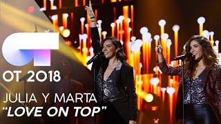 """LOVE ON TOP"" - JULIA y MARTA 