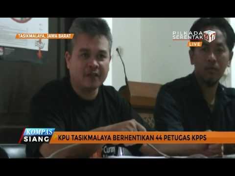 Tak Netral, KPU Hentikan Petugas KPPS Tasikmalaya