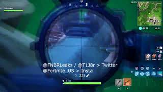 NEW Legendary Heavy Sniper LEAKED Gameplay On FORTNITE BATTLE ROYALE