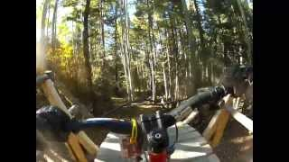 Downhill Mt Bike Run with 9 year old Owen @ Angel Fire Bike Park, Angel Fire NM