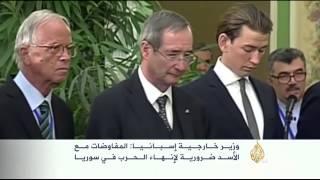 تباين في المواقف الرسمية الغربية تجاه الأسد
