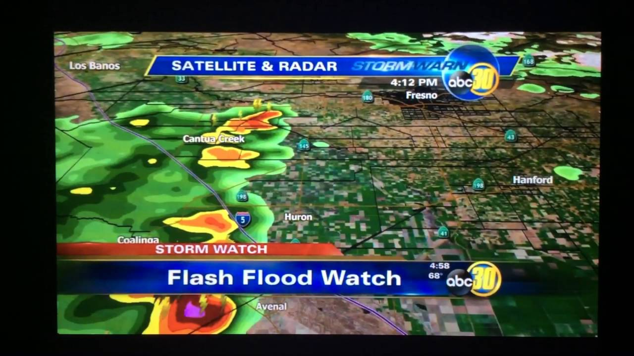 KFSN ABC 30 Action News Live At 5pm Open 2016