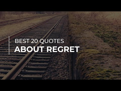 Best 20 Quotes About Regret | Daily Quotes | Quotes For Photos | Trendy Quotes