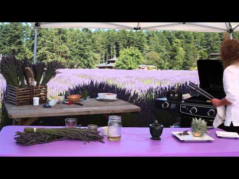 Grilled Pineapple With Butter Rum Glaze : Lavender Recipes