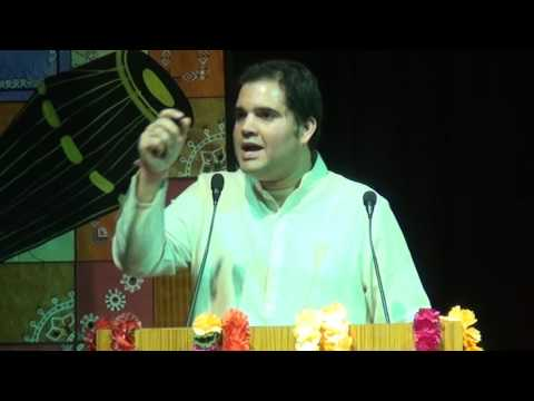 MP VARUN GANDHI AT PEOPLE'S UNIVERSITY BHOPAL ADDRESSING YOUTH WITH HIS MOTIVATIONAL SPEECH (PART 2)