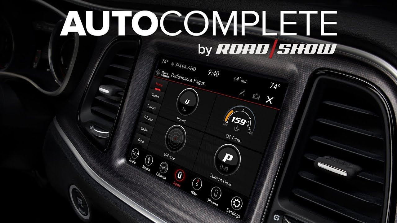 AutoComplete: FCA's Uconnect goes wonky with over-the-air update