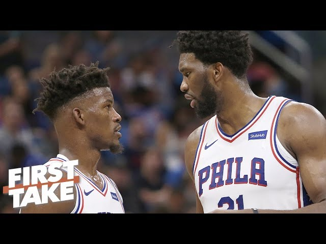 Jimmy Butler is not the problem with Joel Embiid's game – Stephen A.   First Take