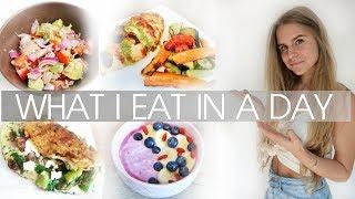 WHAT I EAT IN A DAY Diät #5 I gesund abnehmen
