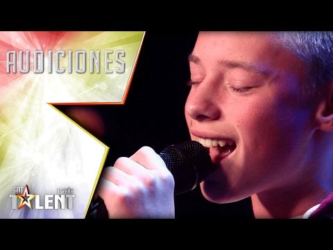 Ryan consigue ponerle la piel de gallina a Edurne | Audiciones 6 | Got Talent España 2017