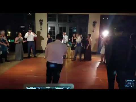 Sequoyah Country Club, Oakland - Wedding, breakdancing fun!