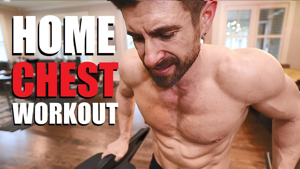 BEST HOME CHEST WORKOUT (NO EQUIPMENT NEEDED)