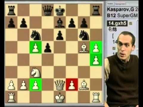 Gary Kasparov vs Anatoli Karpov (Caro-Kann, 2000)