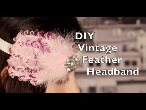 Diy Feather Headband Vintage Headband With Russian