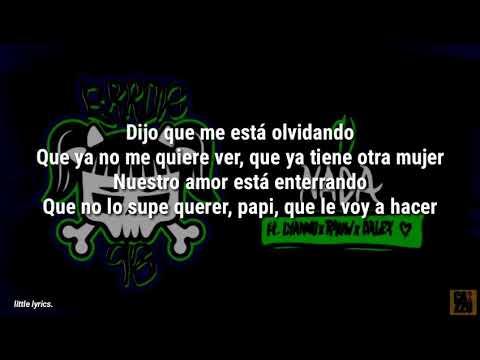 Cazzu – NADA LETRA (ft. Lyanno, Rauw Alejandro, Dalex)