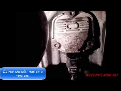 👀  Горит и гаснет лампочка датчика давления масла Шкода А5 2009