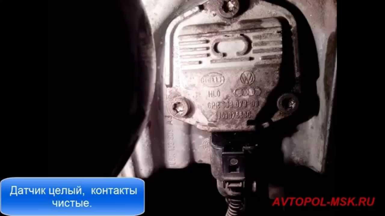 Почему загорается лампочка давления масла на фольксваген пассат б5 125