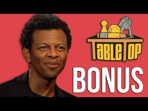 Phil LaMarr extended interview from Wits & Wagers - TableTop ep. 13