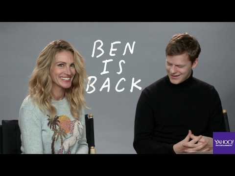 'Ben is Back' stars Julia Roberts and Lucas Hedges interview Mp3