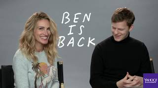 'Ben is Back' stars Julia Roberts and Lucas Hedges interview